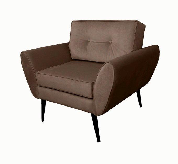 Кресло Swede коричневого цвета