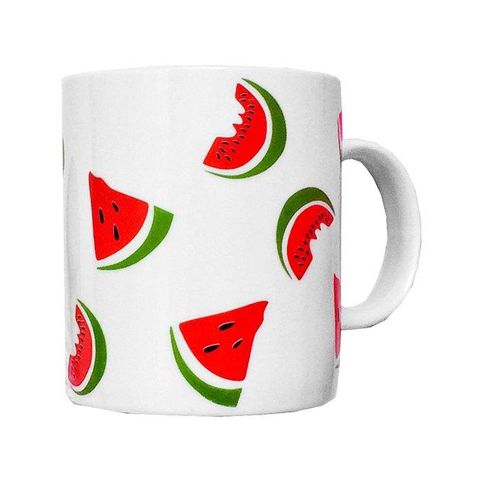 Кружка Watermelon из фарфора
