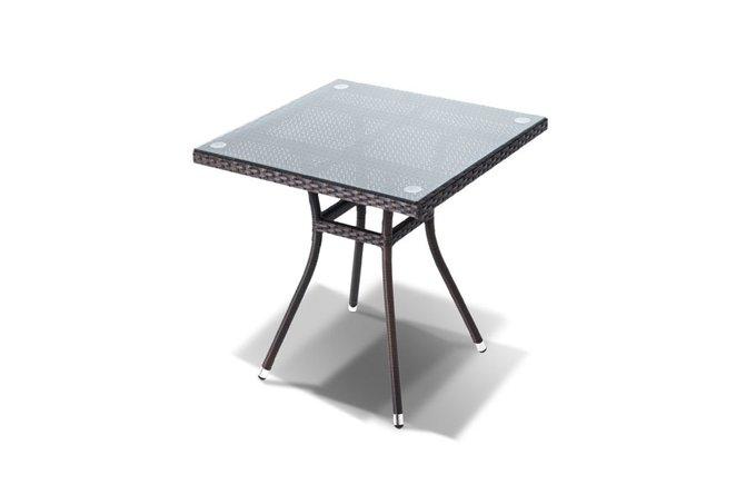 Стол Корто со стеклянной столешницей