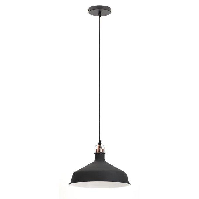 Подвесной светильник Loft черного цвета