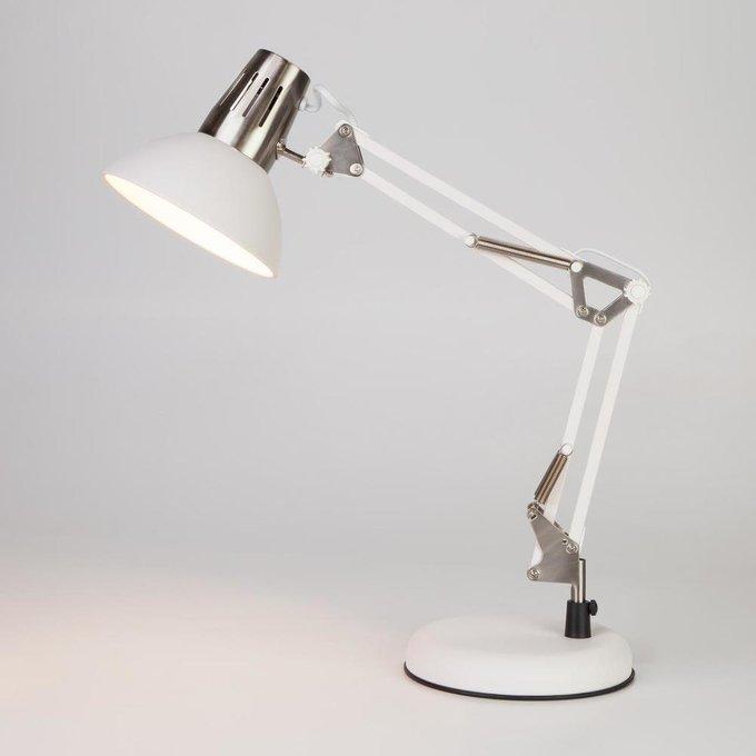 Настольная лампа Worker белого цвета