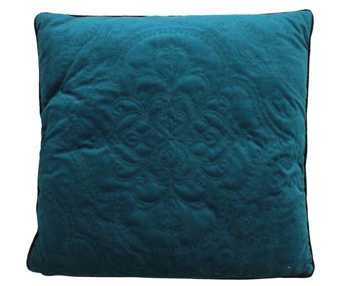 Набор из двух подушек бирюзового цвета