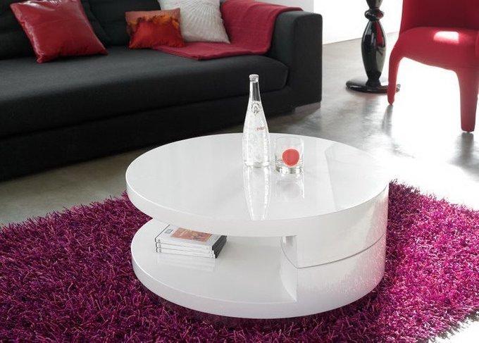 Журнальный стол круглой формы