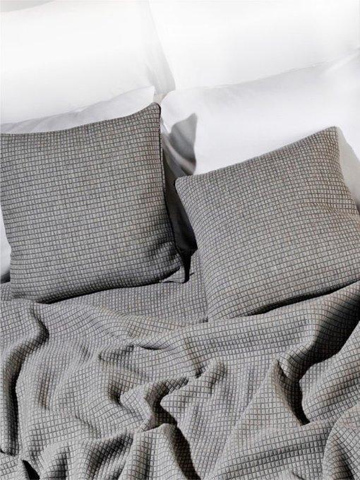Набор из двух наволочек Garda grey серого цвета