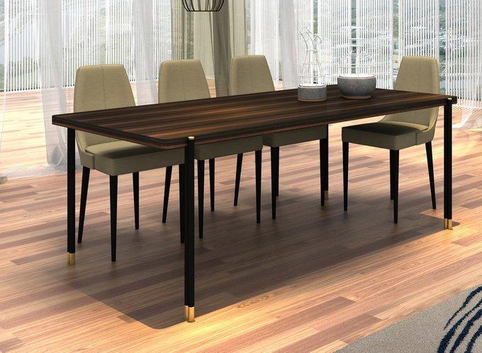 Обеденный стол Benissa из шпонированного МДФ