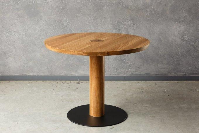 Дизайнерский обеденный стол из массива американского ореха