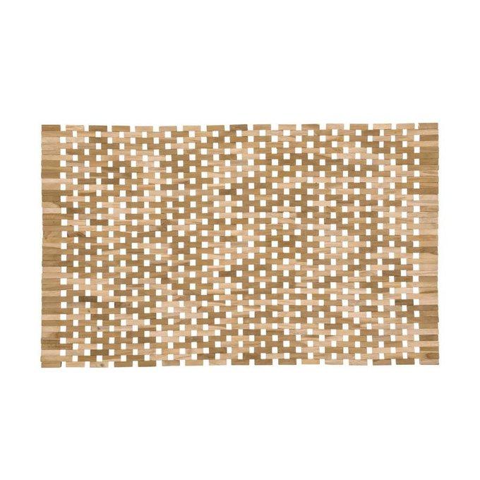 Комплект из двух ковриков Azuray из тикового дерева