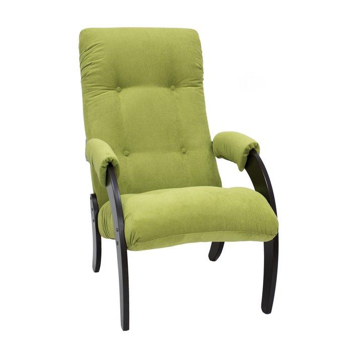 Кресло для отдыха Модель 61 с обивкой VeronaAppleGreen
