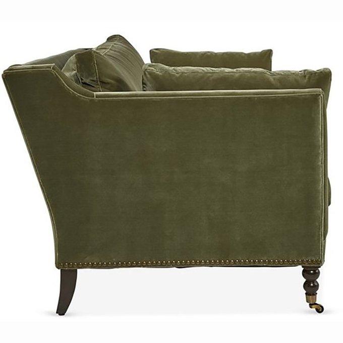 Диван Madeline Sofa зеленого цвета