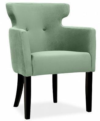 Стул Вега Дизайн 3 серо-зеленого цвета