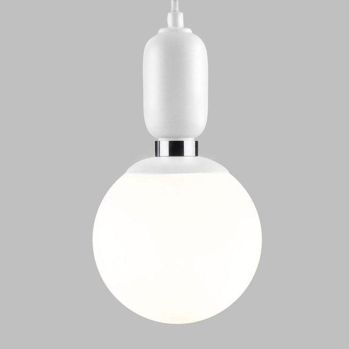 Подвесной светильник Bubble белого цвета