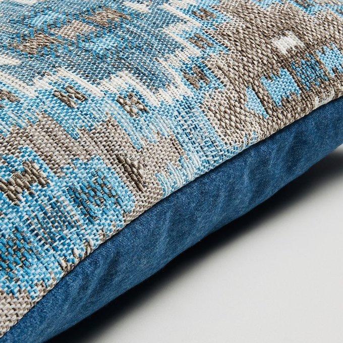 Чехол для подушки Cuzco из комбинированной ткани 30x50