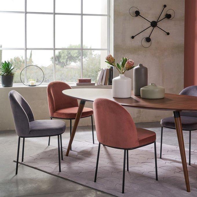 Комплект из двух стульев Topim серого цвета