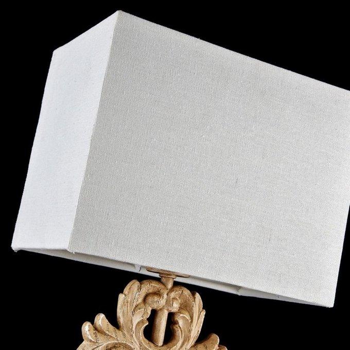Настольная лампа Cipresso с белым абажуром
