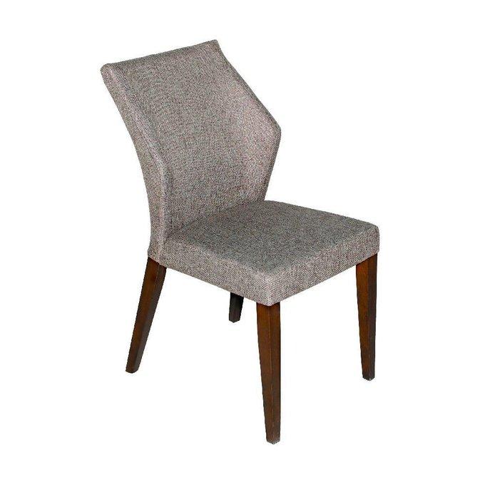Кресло серо-коричневого цвета