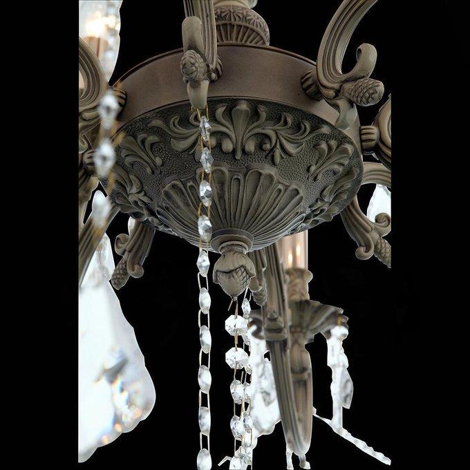 Подвесная люстра Ornatole с хрустальными подвесками