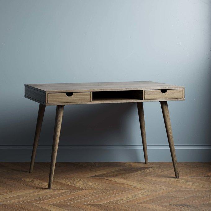 Письменный стол Scandinavia 140x70 с белым ящиками