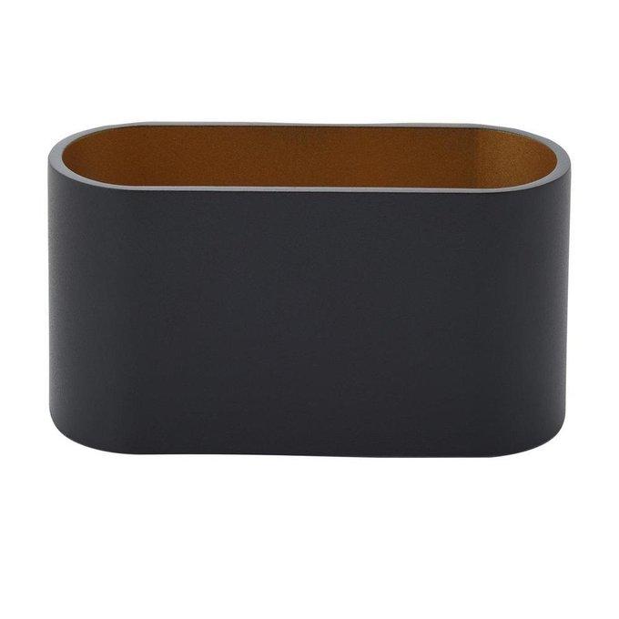 Настенный светильник черного цвета