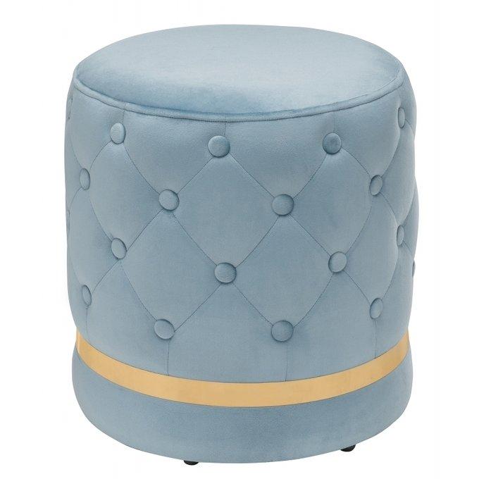 Пуф Brot-П blue голубого цвета