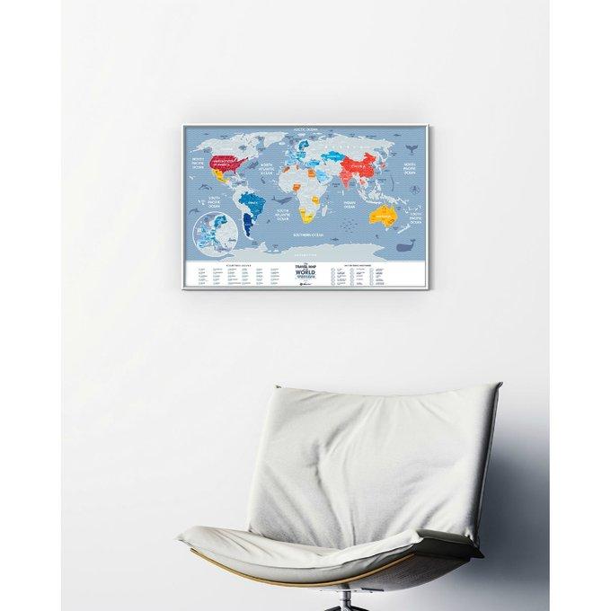 Карта travel map weekend world