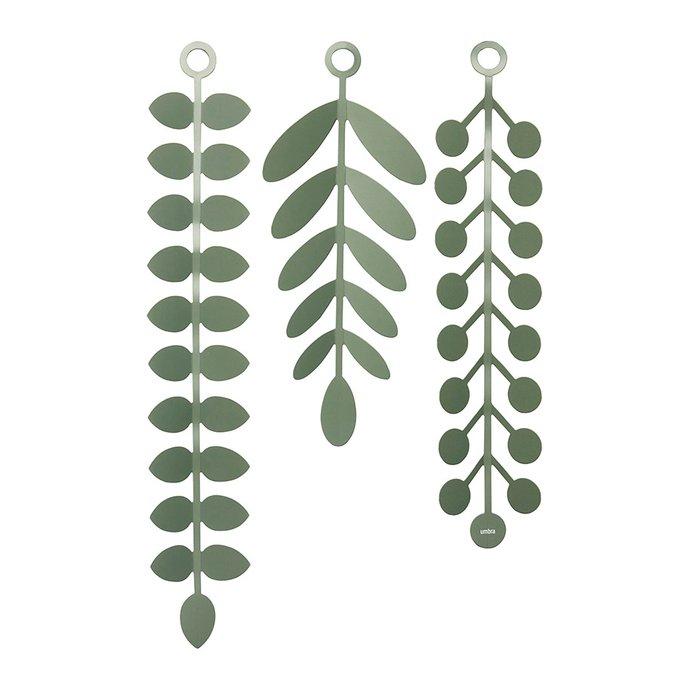 Декор для стен Umbra vines зелёный