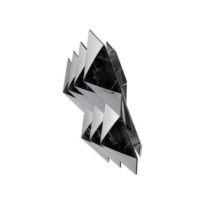 Бра настенное Favus серебристого цвета