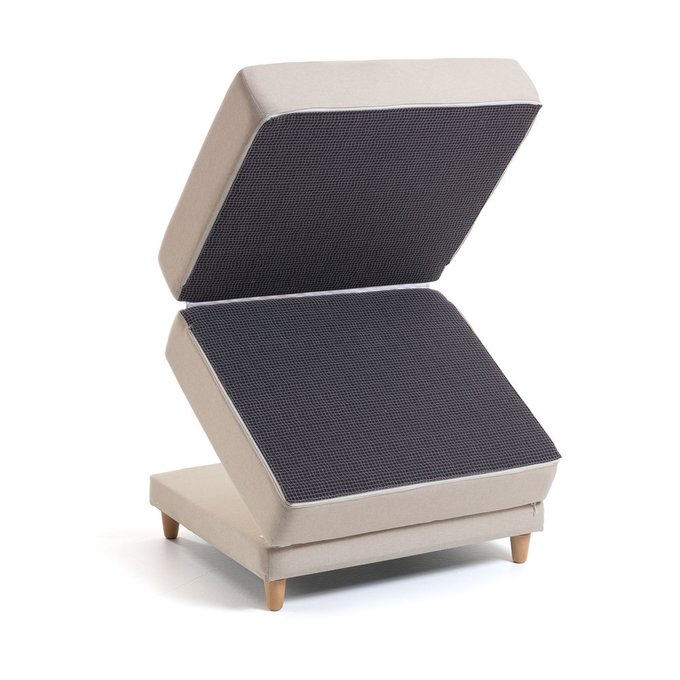 Пуф-кровать Lizzie коричневого цвета