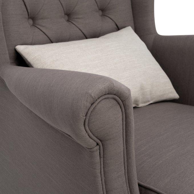 Кресло Винтаж коричневого цвета