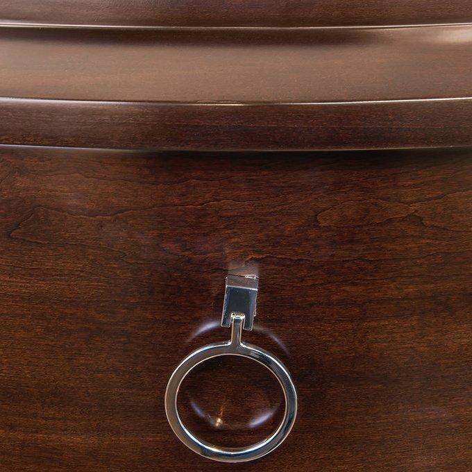 Комод высокий Mestre коричневого цвета