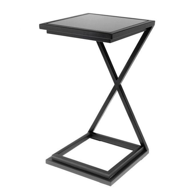 Прикроватный Журнальный столик  Eichholtz Cross с металлическим каркасом