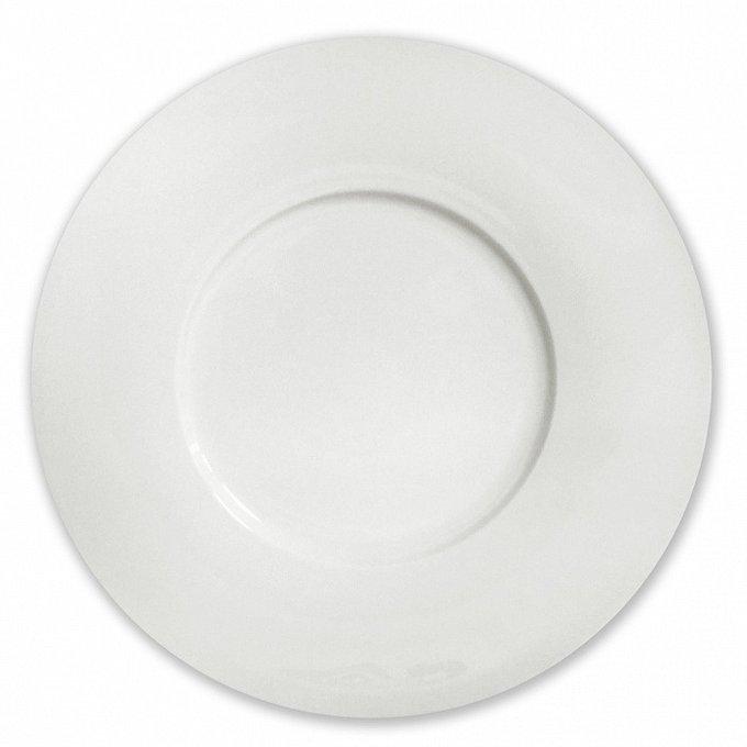 Блюдо бортовое Космос белого цвета