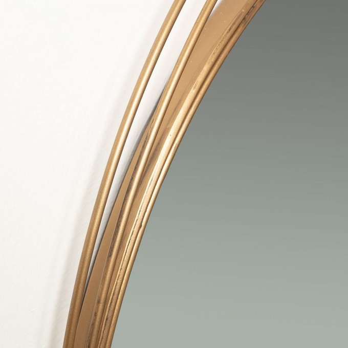 Зеркало Starboard в  латунной отделке