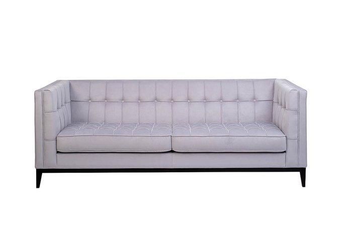 Диван-кровать Palermo трехместный серо-бежевого цвета