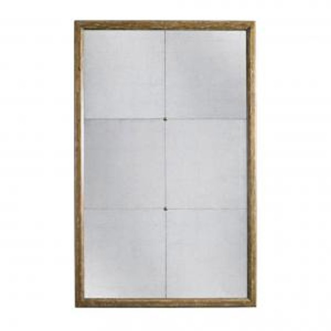Зеркало duke floor mirror - brown finish