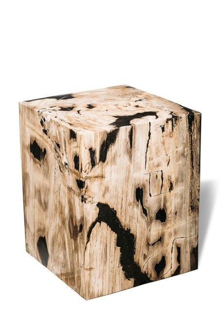 Декоративный пенек Джемур из окаменелого дерева 383399