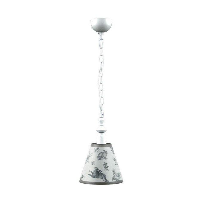 Подвесной светильник Classic с абажуром из ткани