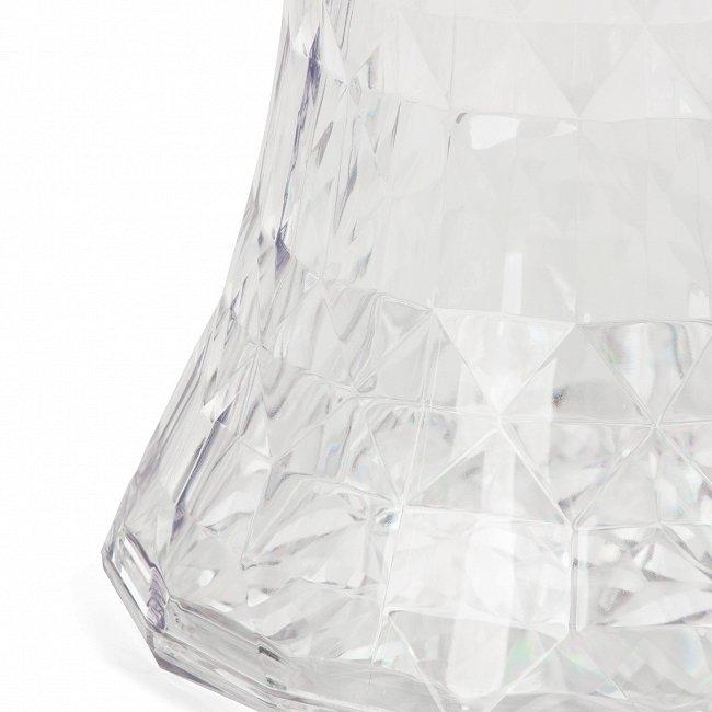 Кофейный стол Rock Crystal из пластика прозрачного цвета