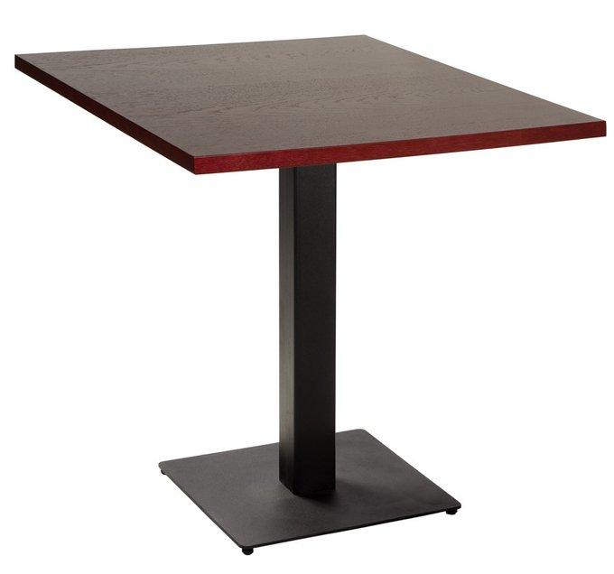 Обеденный стол Квадро Nut из металла и дерева