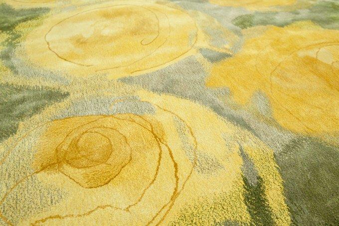 Ковер NOW CARPETS Grisha из 100% бамбукового волокна 100x100 см