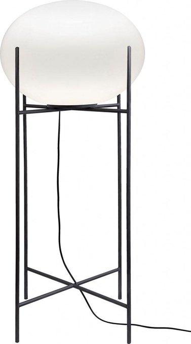 Настольная лампа Nuage с плафоном из стекла