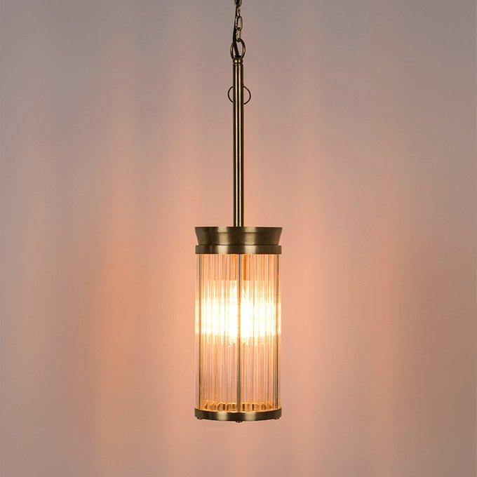 Подвесной светильник Angel On Fire с золотым основанием