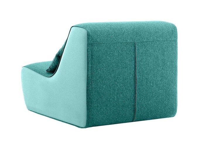 Кресло Neya голубого цвета