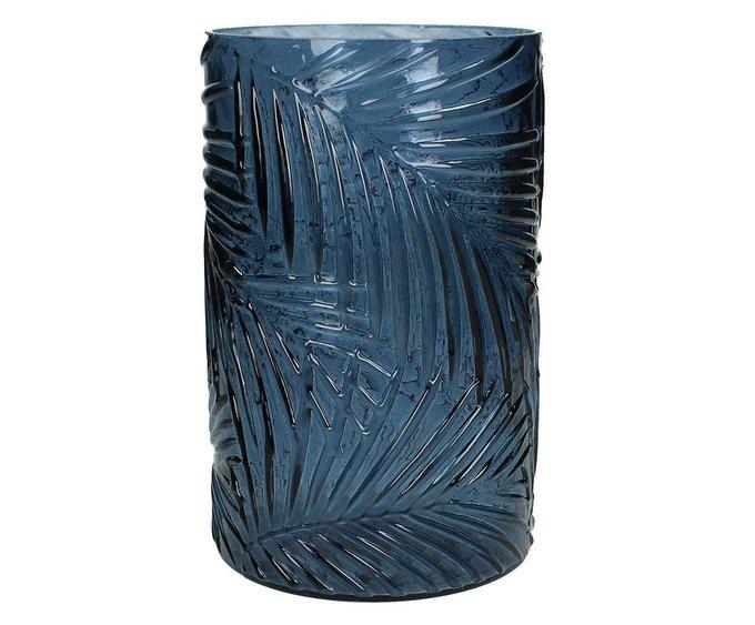 Набор из двух синих ваз