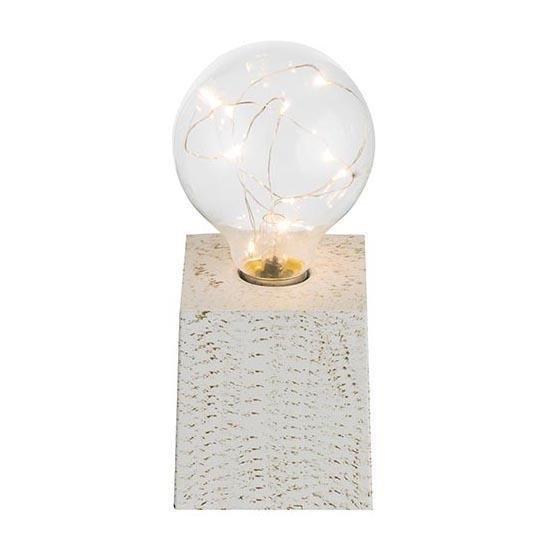 Настольная лампа Goldy серого цвета