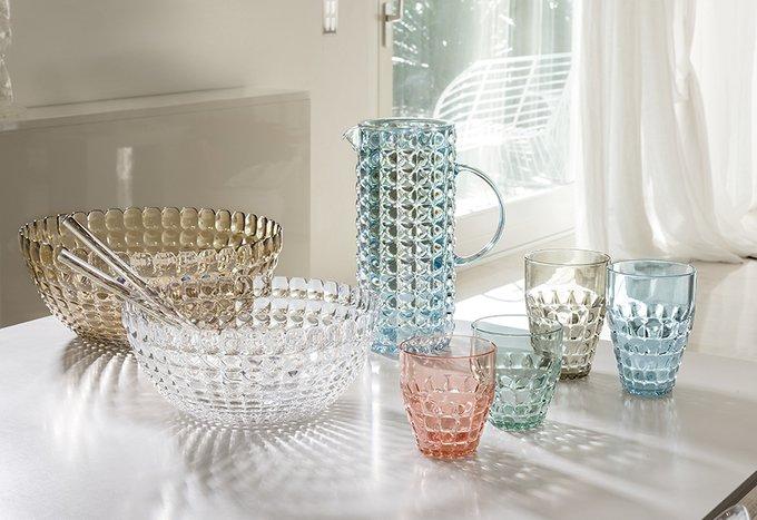 Кувшин с фильтром Guzzini Tiffany коралловый