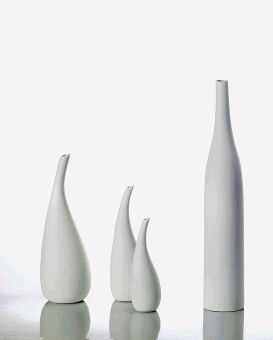 Фарфоровая ваза TEARDOPS PURE