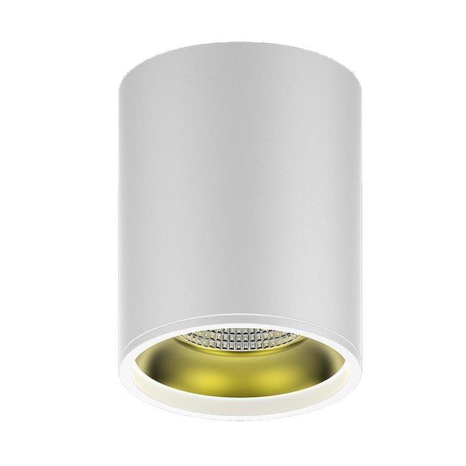 Потолочный светодиодный светильник Overhead белого цвета