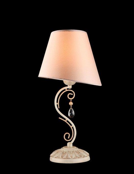 Настольная лампа Сutie с розовым абажуром