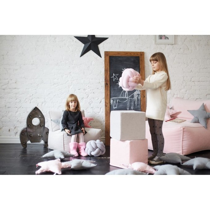 Детское модульное кресло велюр
