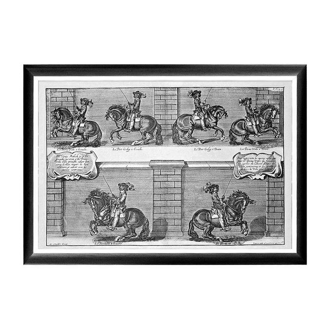 Арт-постер Новейший метод конного искусства